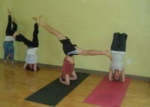 My yoga peeps